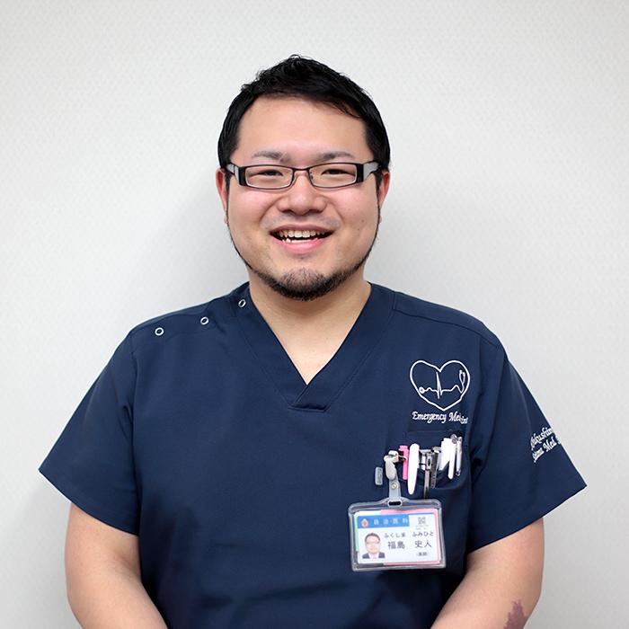先輩ドクターの声:救急科 福島 史人